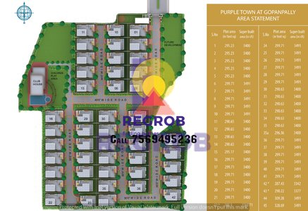 Manjeera Purple Town master plan