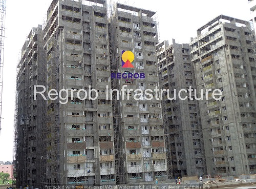 rajapushpa atria construction site