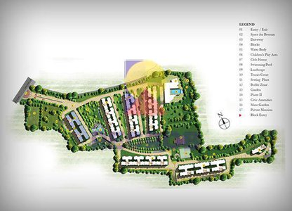 prestige-ferns-residency-master-plan