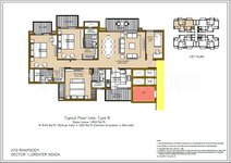 3BHK Apartments ATS Rhapsody