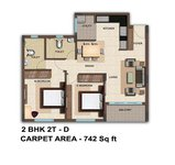 2 BHK Bren Woods