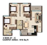 3 BHK Bren Woods