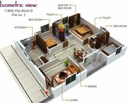 matrix nirman florence floor plan 3bhk