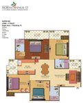 galaxy north avenue 2, noida extension, greater noida, gaur city, floor plan,