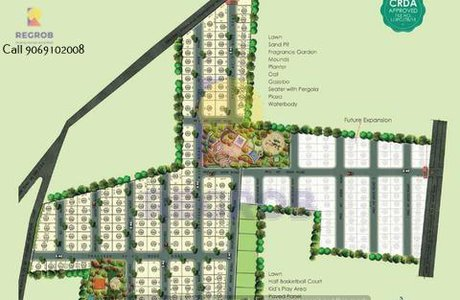 Vertex Capital Vista Plot Kaza Guntur Master Plan