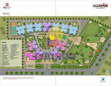 Ace Aspire Layout Plan