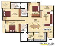 3 BHK SJR Fiesta Homes