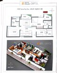 2 BHK Floor Plan Grand Project Capitol