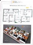 3 BHK Floor Plan Grand Project Capitol