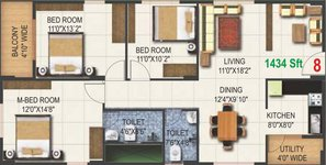 3 BHK Pioneer Kingstown