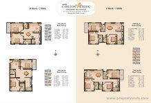 Floor Plan Of 3BHK Of Jain Carlton Creek