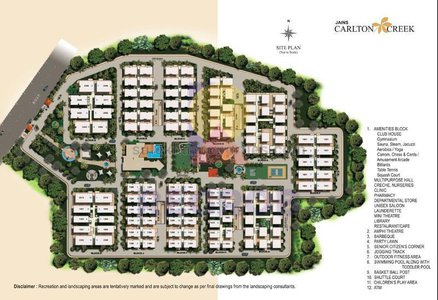 master plan of Jain Carlton Creek
