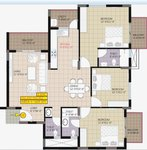 3 BHK Raja Ritz Avenue