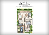 Prestige Silver Oak Floor Plan Villa Type 1