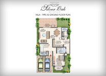 Prestige Silver Oak Floor Plan Villa Type 2