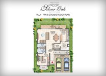 Prestige Silver Oak Floor Plan Villa Type 3