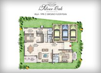 Prestige Silver Oak Floor Plan Villa Type 4
