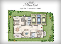 Prestige Silver Oak Floor Plan Villa Type 5