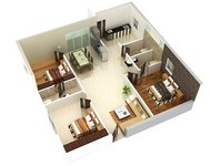 Jewel County Kesarapalli Vijayawada 3bhk Floor Plan