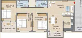 Floor plan for Lifestyle Orchid