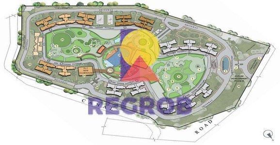 Master Plan Of Elita Garden Vista Rajarhat, Kolkata