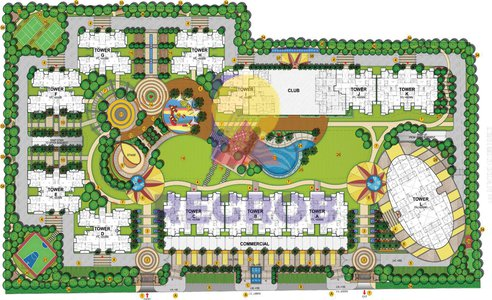 master plan Samridhi Grand Avenue