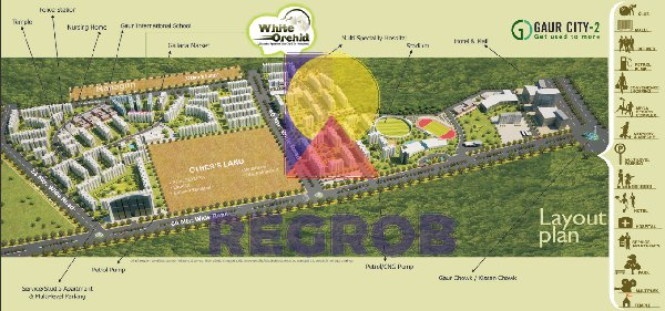White Orchid Noida Extension Master Plan