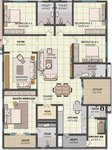 4 bhk ncc urban one