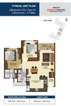 2 BHK Floor Plan Brigade Northridge Jakkur