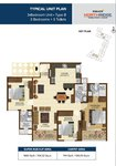 3 BHK Floor Plan Brigade Northridge Jakkur