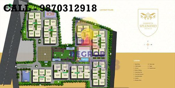 Samhita Splendid Homes Tadepalli Guntur Layout Plan
