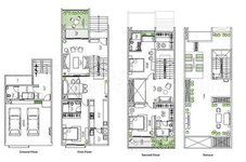 3 BHK Floor Plan of Assetz Leaves & Leaves