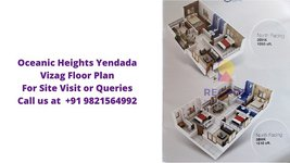 Oceanic Heights Yendada Visakhapatnam Floor Plan
