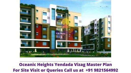 Oceanic Heights Yendada Vizag  Master Plan