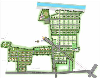 Master Plan Vertex Capital County Villa