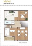 3 BHK Floor Plan KMV Vivaan Villas