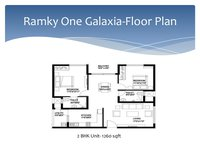 2 bhk in Ramky One Galaxia