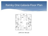 3 bhk in Ramky One Galaxia