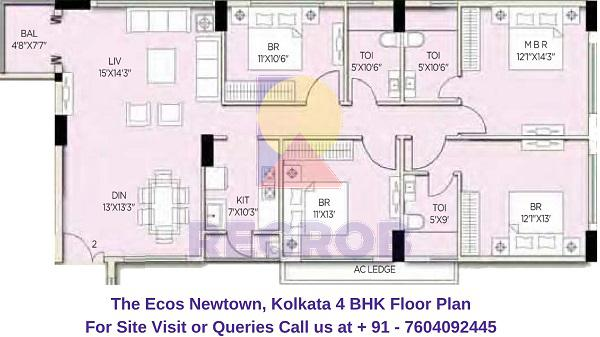 4 Bhk Flats For Sale In The Ecos Regrob
