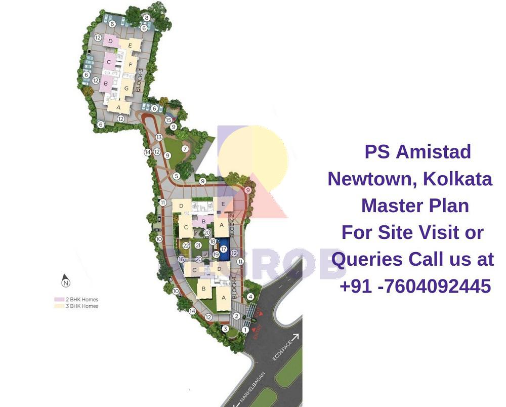 PS Amistad Newtown Kolkata
