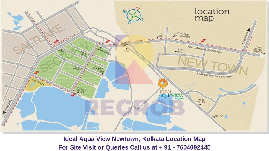 Ideal Aqua View Newtown, Kolkata
