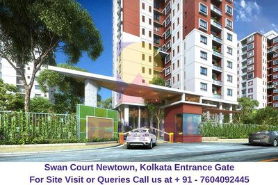Swan Court Newtown, Kolkata