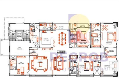 Brigade At No 7 floor plan