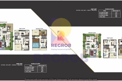 Jains Four Seasons floor plan
