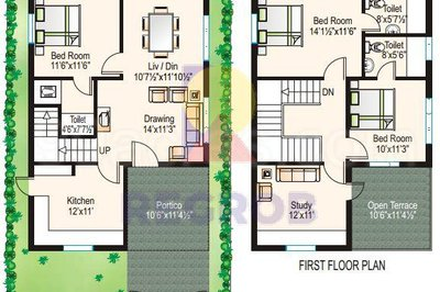 Modi Sunshine Park floor plan