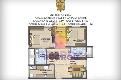 Prestige High Fields floor plan