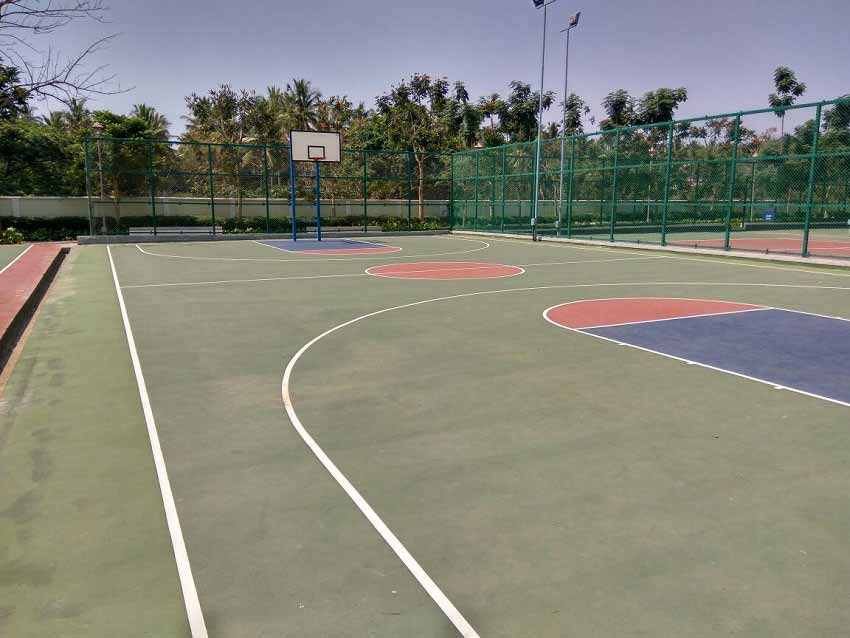 Provident Sunworth Basketball Court